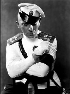 Erich Von Stroheim, director de cine mudo, La reina Kelly.