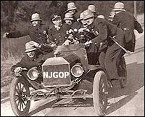 Keystone cops, cine mudo, cine cómico, orígenes del cine.