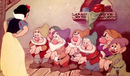 Blancanieves y los siete enanitos de Dysney