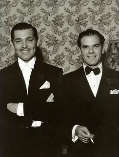 Frank Capra con Clarke Gable Oscars 1936