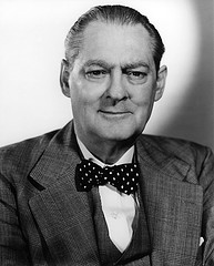 Lionel Barrymore, actor de cine.